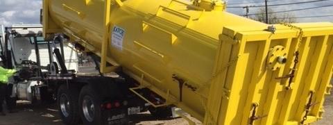 vacuum tank container